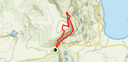 Meall Na Suiramach and the Quiraing Map