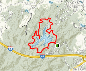 Ragged Mountain Natural Area Trail Map