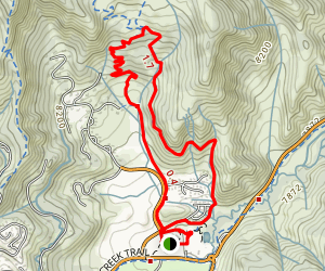Snowmass Yellow Loop: Rim Trail North Map