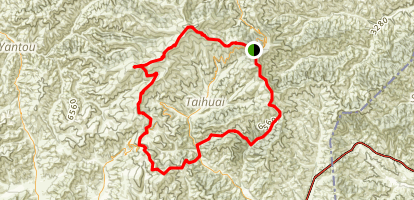 WuTaiShan Grand Tour Map