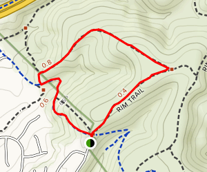 Portobelo Ridge Trail  Map