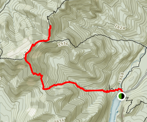 Armstrong Mountain via Weld Trail Map