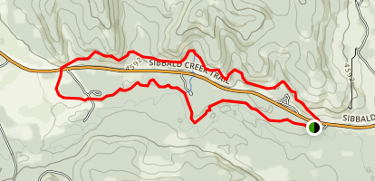 Jumpingpound Trail Map