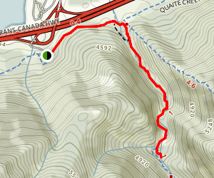 Heart Creek Trail Map