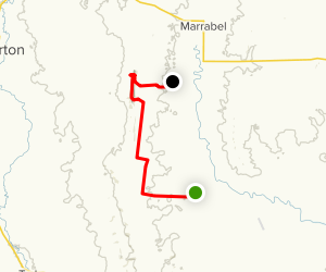 Heysen Trail: Hamilton to Peters Hill Map
