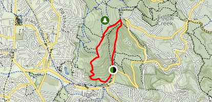 1000 steps Kakoda Memorial Track  Map