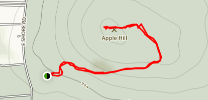 Apple Hill - Observation Deck Map