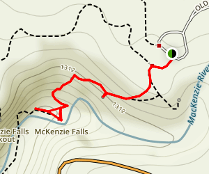 MacKenzie Falls Map