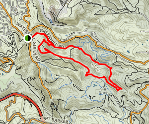 Chambers Gully Loop Map