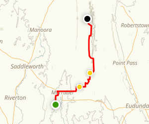 Heysen Trail: Peters Hill to Gerkie Gap-Web Gap Map