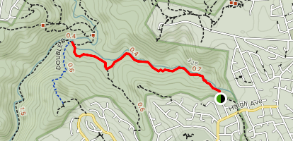 Frenchs Creek to The Cascades Map