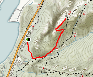 Stawamus Chief First Peak Map