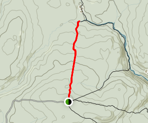 Laverty Falls Trail Map