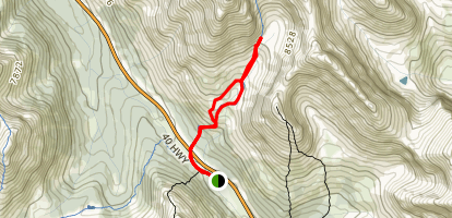 Ptarmigan Cirque Map