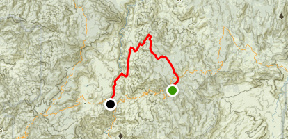 Cedar Canyon - River Trail Map