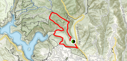 Chabot Loop from Golf Course Map
