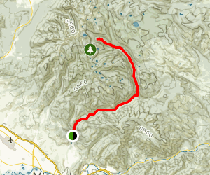 Rattlesnake and Wrangle Creek Trails Map
