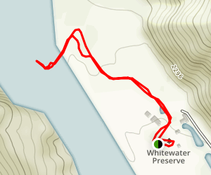 Whitewater River Hike Map