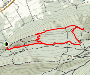 Bald Knob Ridge Trail Map