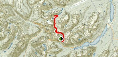 Lake Josephine Via Grinnell Glacier Map