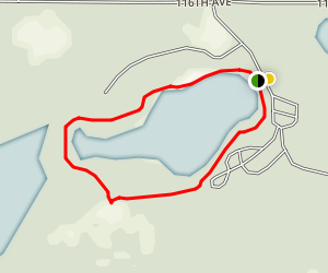 Ely Lake Park Loop Map