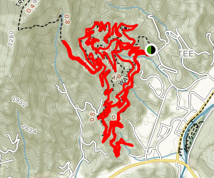 Fire Mountain Trail System  Map