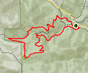 Elkhorn Trail and Eagle's View Trail Loop Map