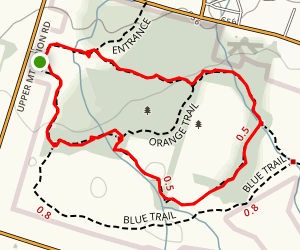 Orange and Yellow Trails Map