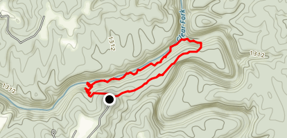 Clear Fork Loop Trail Map