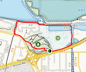 San Francisco Bay Trail Loop Map