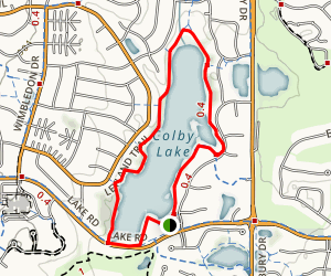 Edgewater Trail  Map