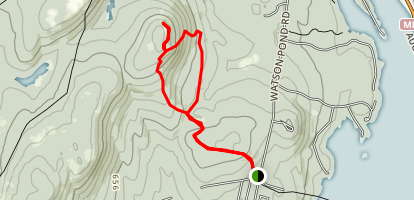Round Top Trail Map
