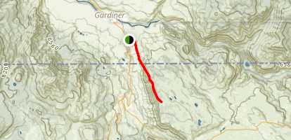 Rescue Creek Trail (Gardner Side) Map