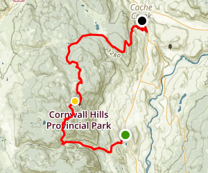 Cornwall Fire Tower Map