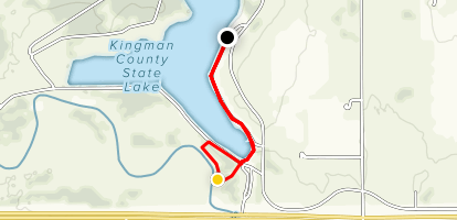 Kingman County State Lake Map