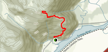 Abby Grind Trail Map