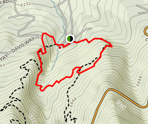 Garden Creek Waterfall Loop Map