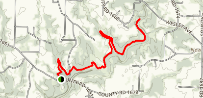 Duck River Trail Map