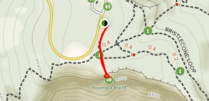 Yovimpa Point Map