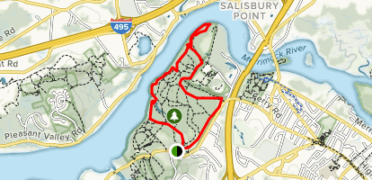 Moulton's Hill Loop Map