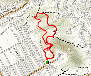 El Cerrito Foundation Memorial Grove Trail Map