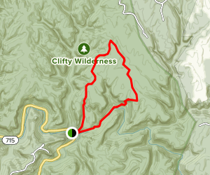 Eagle's Nest Trail Map