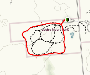 Louise W. Moore County Park Map