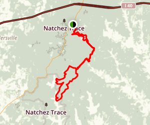 Red Leaves Trail Map