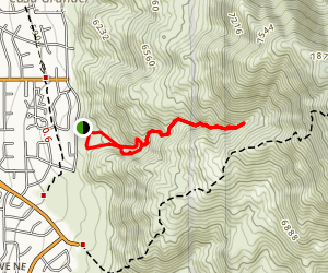 Piedra Lisa Arroyo Map