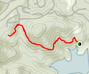 Grindstone Lake to Winchester Road Map