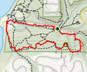 Piper's Creek and South Ridge Trail Map