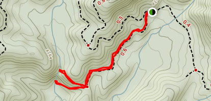 Dill and Upper Dill Falls Map