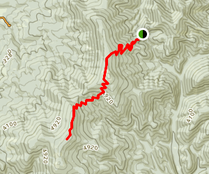 South Chilco Mountain Map