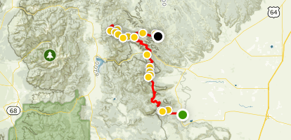 Philmont Scout Ranch Trek [PRIVATE PROPERTY] Map
